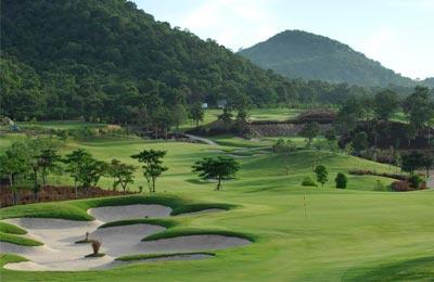Thailand golf getaway