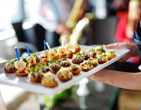 golf corporate catering