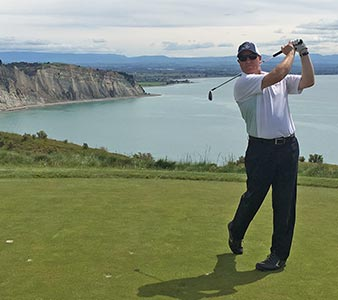 Steve Wylie - group golf tours operator