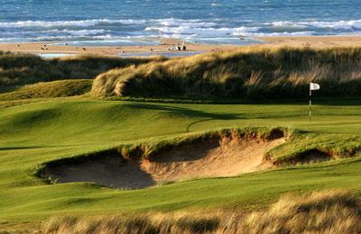 Barnbougle Dunes Golfing