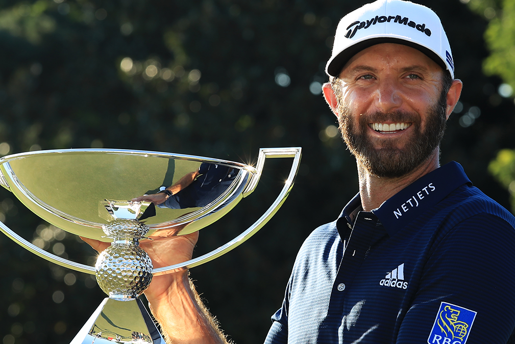 Dustin Johnson's Big Pay Day