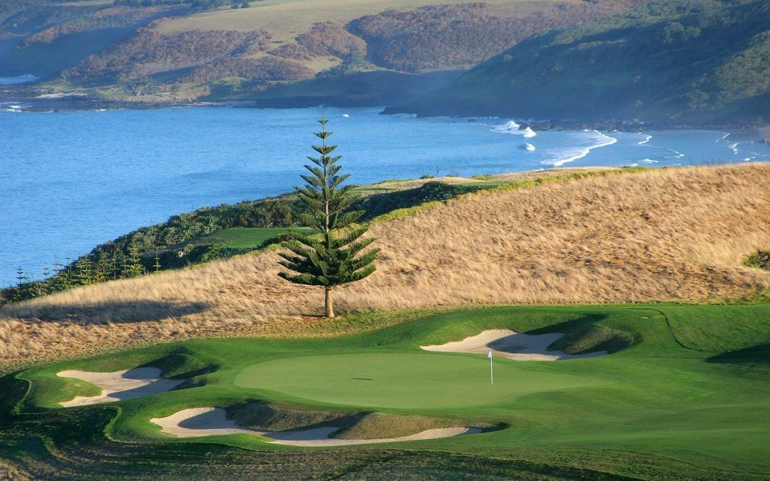 Featured course – Kauri Cliffs, Bay of Islands NZ